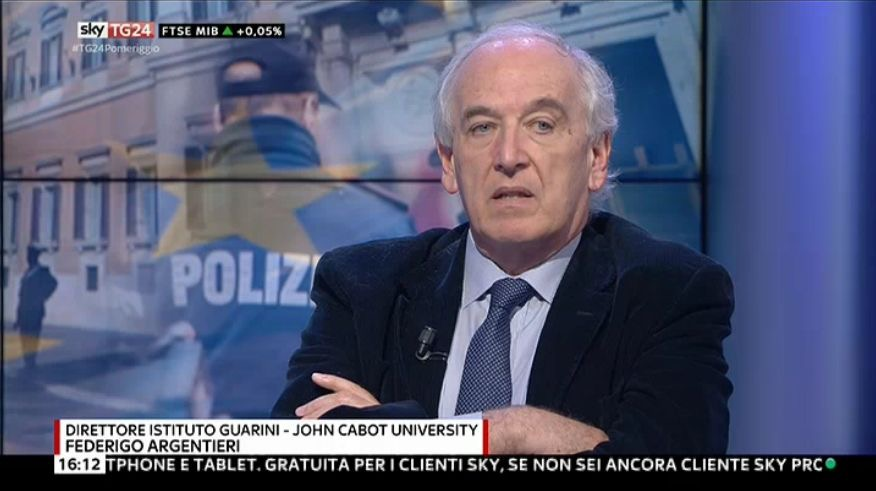 Professor Federigo Argentieri Interviewed by Bloomberg on President Napolitano's Resignation and Possible Successor