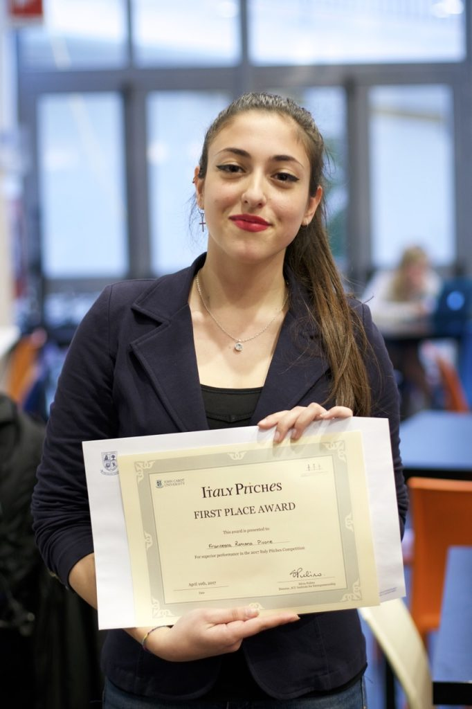 Francesca Romana Picone, winner of Italy Pitches