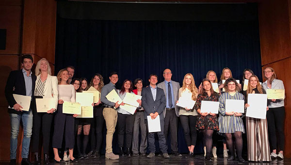 The 2017 Student Awards Recipients