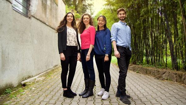 Entrepreneurship Class Project Leads to Internship