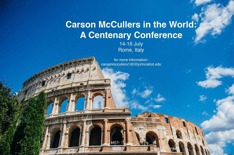 Carson McCullers in the World: International Conference at JCU