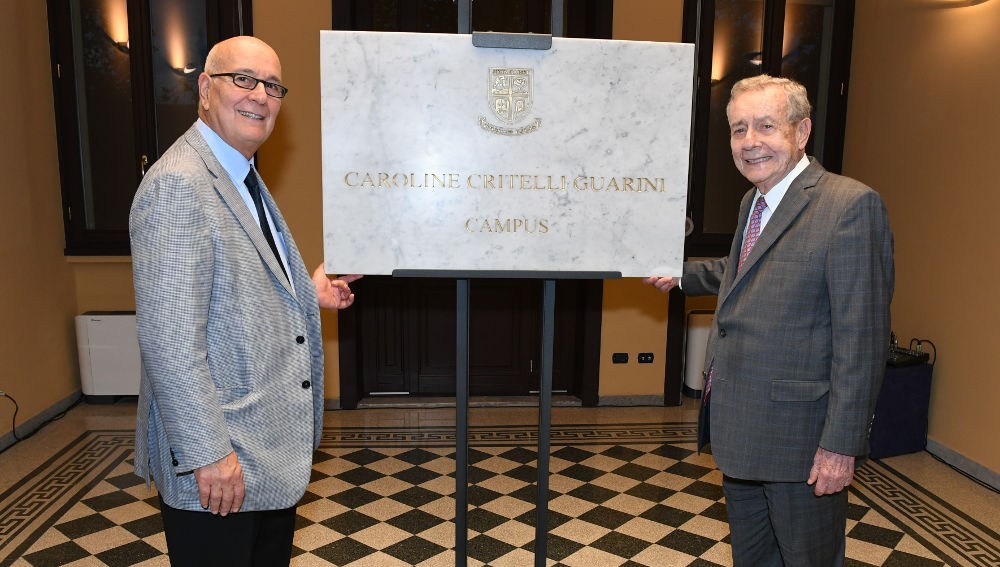 JCU Dedicates Caroline Critelli Guarini Campus