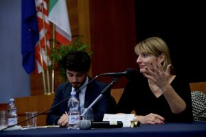 British Ambassador to Italy Jill Morris