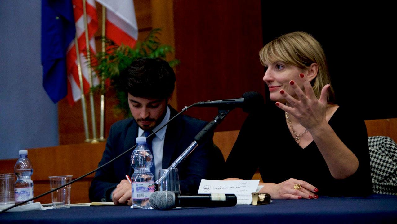 British Ambassador to Italy Jill Morris Visits John Cabot University