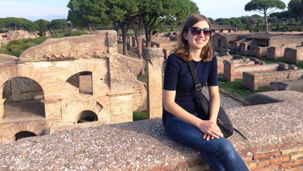 A Once in a Lifetime Experience: Study Abroad Student Sydney Schneider