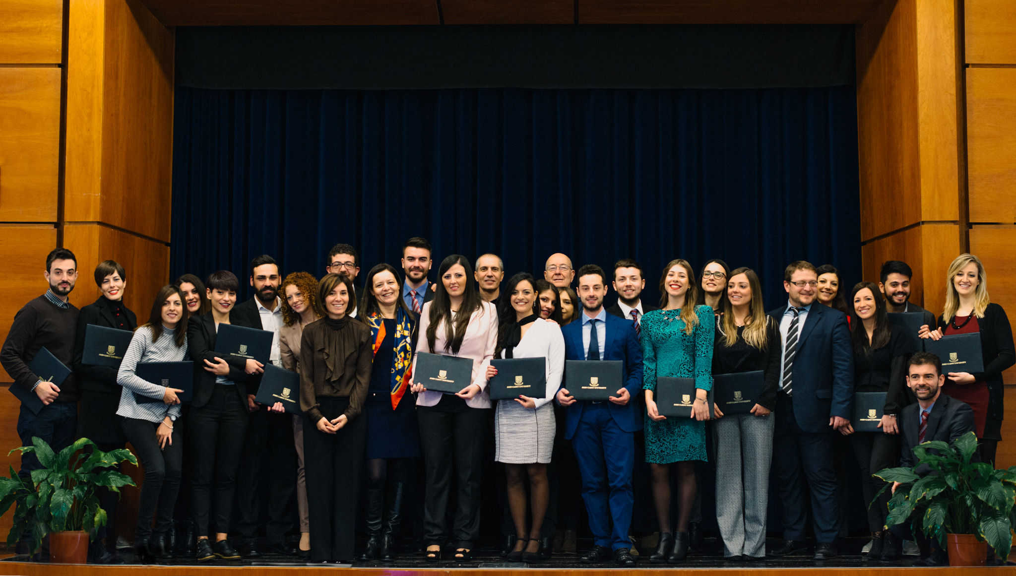 JCU Honored with Two AIF Adriano Olivetti Awards