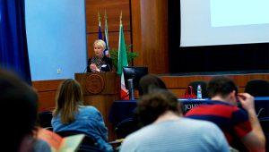 Estonian Ambassador Kuningas-Saagpakk at JCU