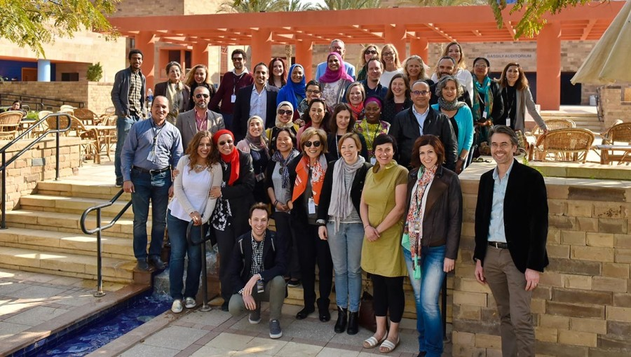 Teaching and Learning Innovation: JCU Delegation Visits University of Cairo, Egypt