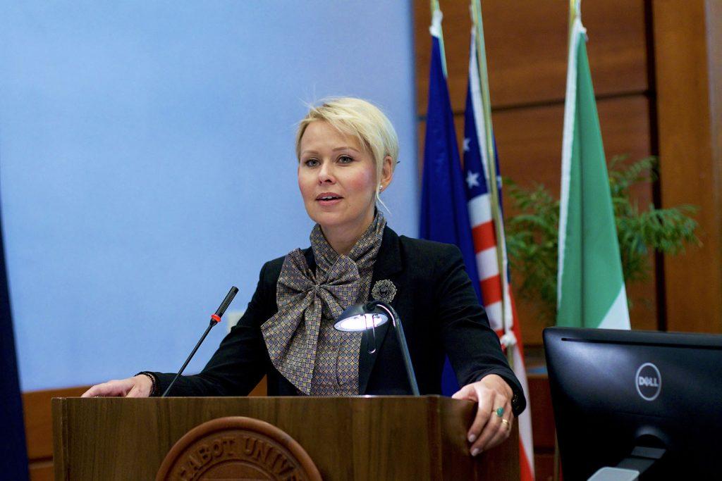 Estonian Ambassador Kuningas-Saagpakk
