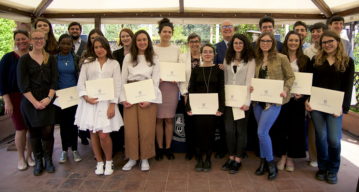 John Cabot University Celebrates 2018 Student Award Winners