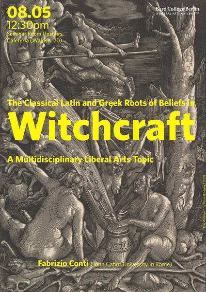 Professor Fabrizio Conti's Lecture on Witchcraft