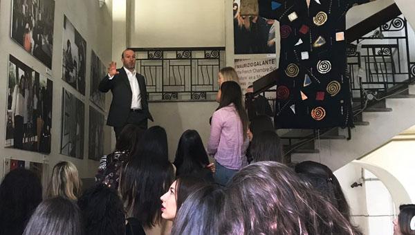 JCU Retailing Class Visits Accademia Costume e Moda in Rome