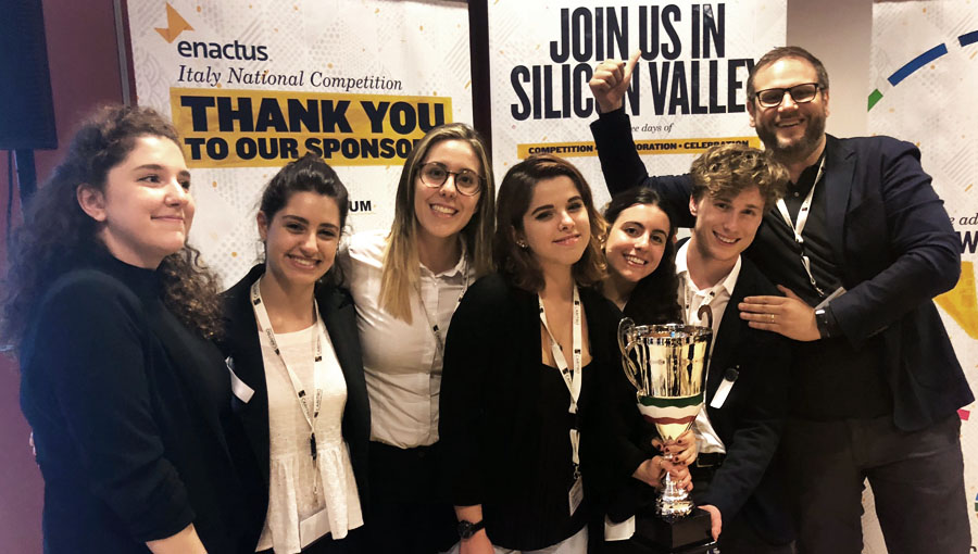 JCU Enactus Team Wins National Contest and Heads to Silicon Valley