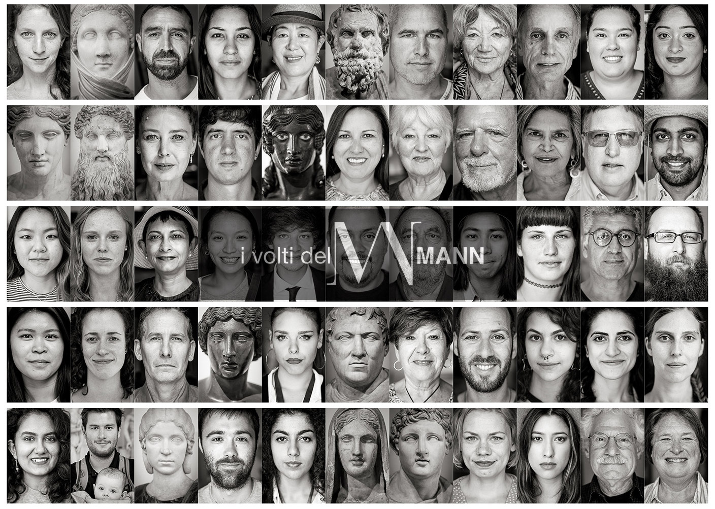 "Prof. Paolo Soriani's photo project ""I volti del Mann"""