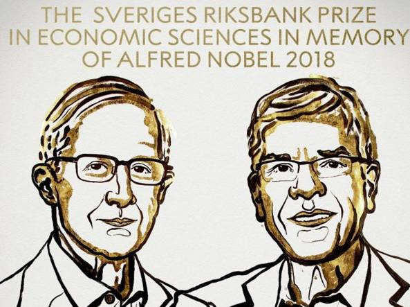 2018 Nobel Prize in Economics Awarded to Nordhaus and Romer