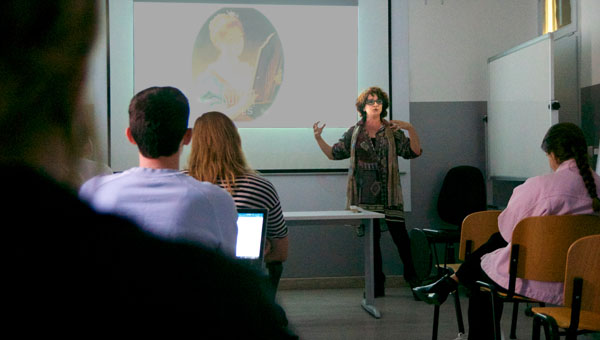 The Mirror as Technological Device: a Lecture by Nefeli Misuraca