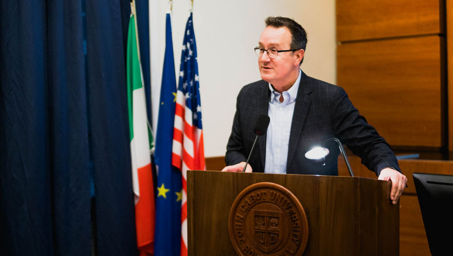 Italy Reads 2018 Inaugurated by Keynote Speaker Dr. Mark Bosco