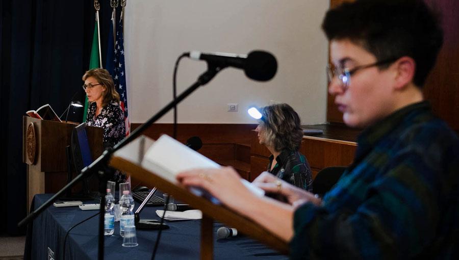 InVerse 2018 Brings Italian Poetry in Translation to JCU