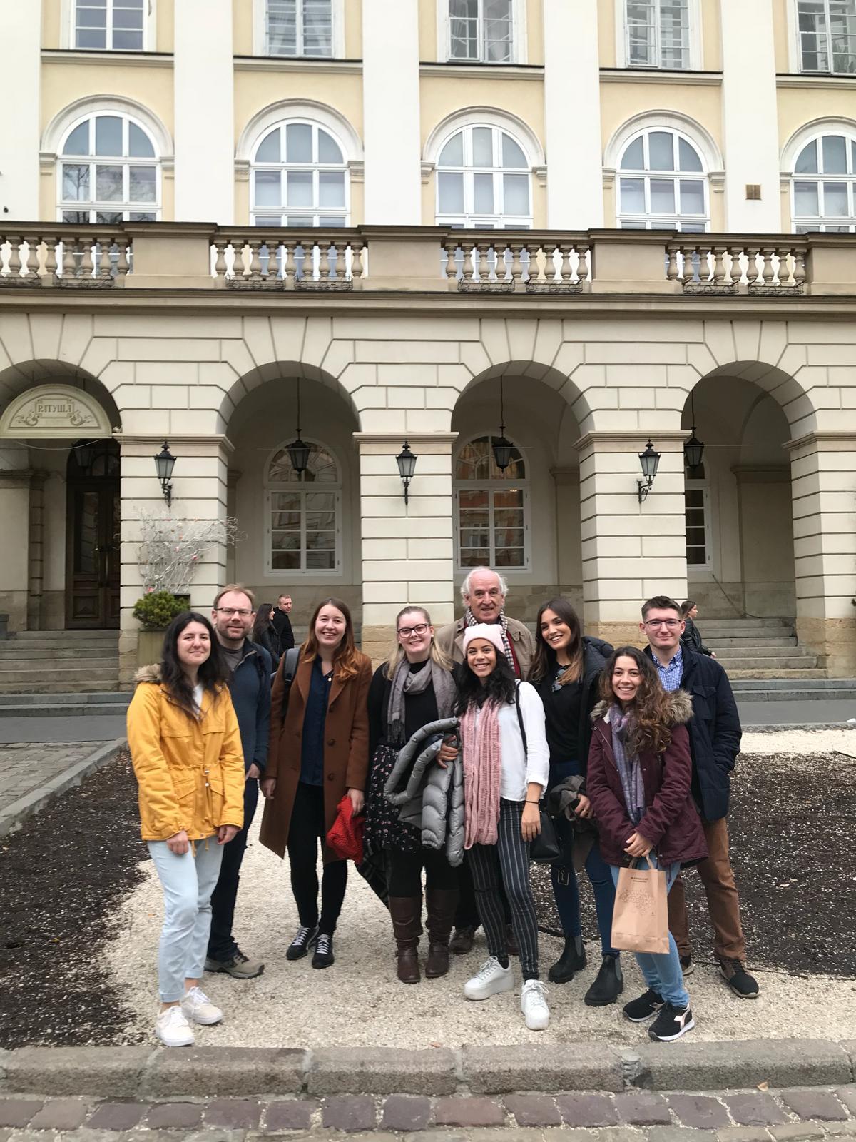 JCU Students and Professors, Lviv, Ukraine
