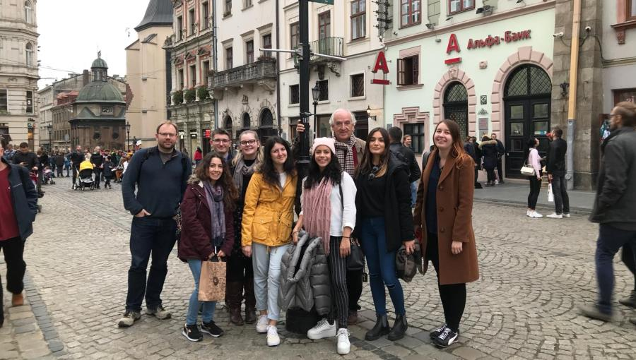 Guarini Institute Organizes JCU Study Trip to Ukraine