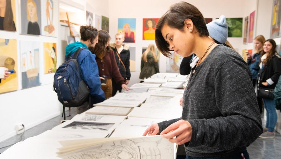 JCU Studio Art Department Showcases Student Talent