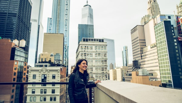 The Business of Space: Study Abroad Alumna Teresa Alessandro