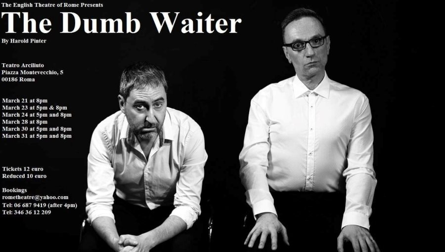 Prof. Connelly To Perform in Production of Harold Pinter's The Dumb Waiter
