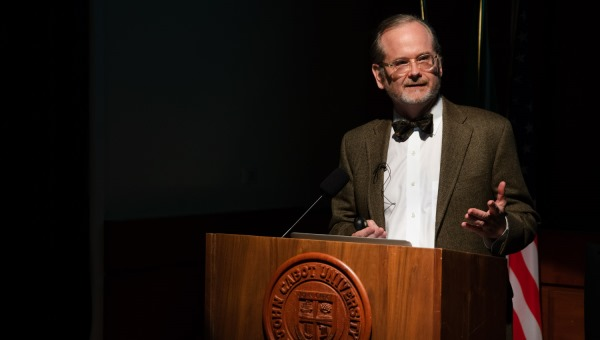 Whither Remix Culture, a Decade Later: JCU Welcomes Professor Lawrence Lessig