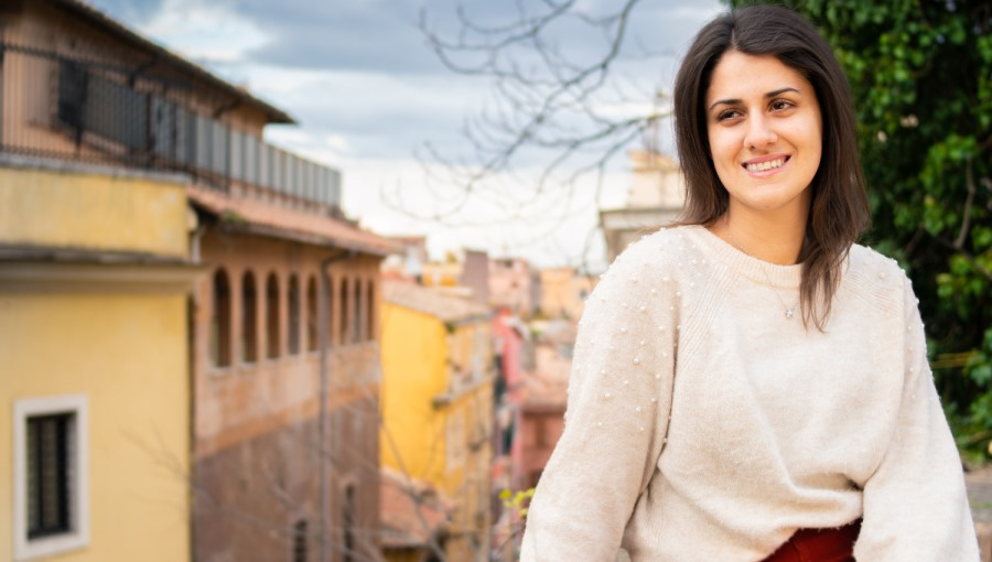Double Down on Education: Student Silvia Palazzini
