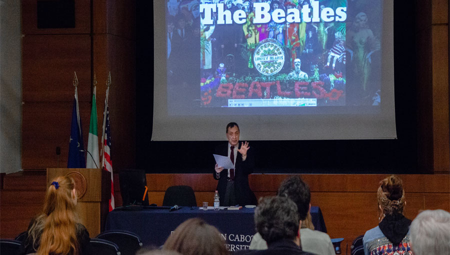 The Beatles and the Long '68: JCU Welcomes Ferdinando Fasce