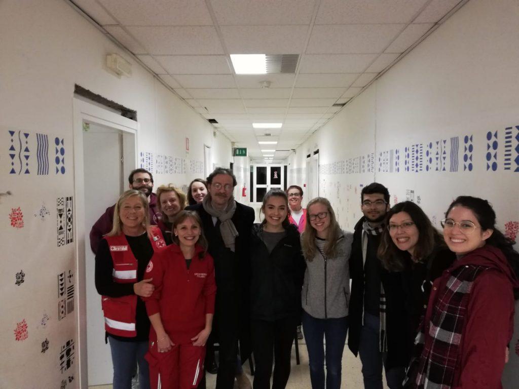 The JCU delegation at Il Faro