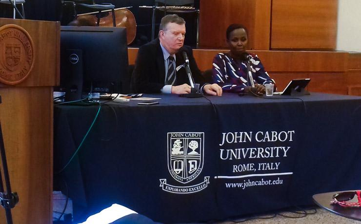 Commemoration of Rwandan Genocide at John Cabot University