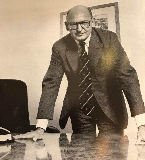 Former JCU President Douglas Denby
