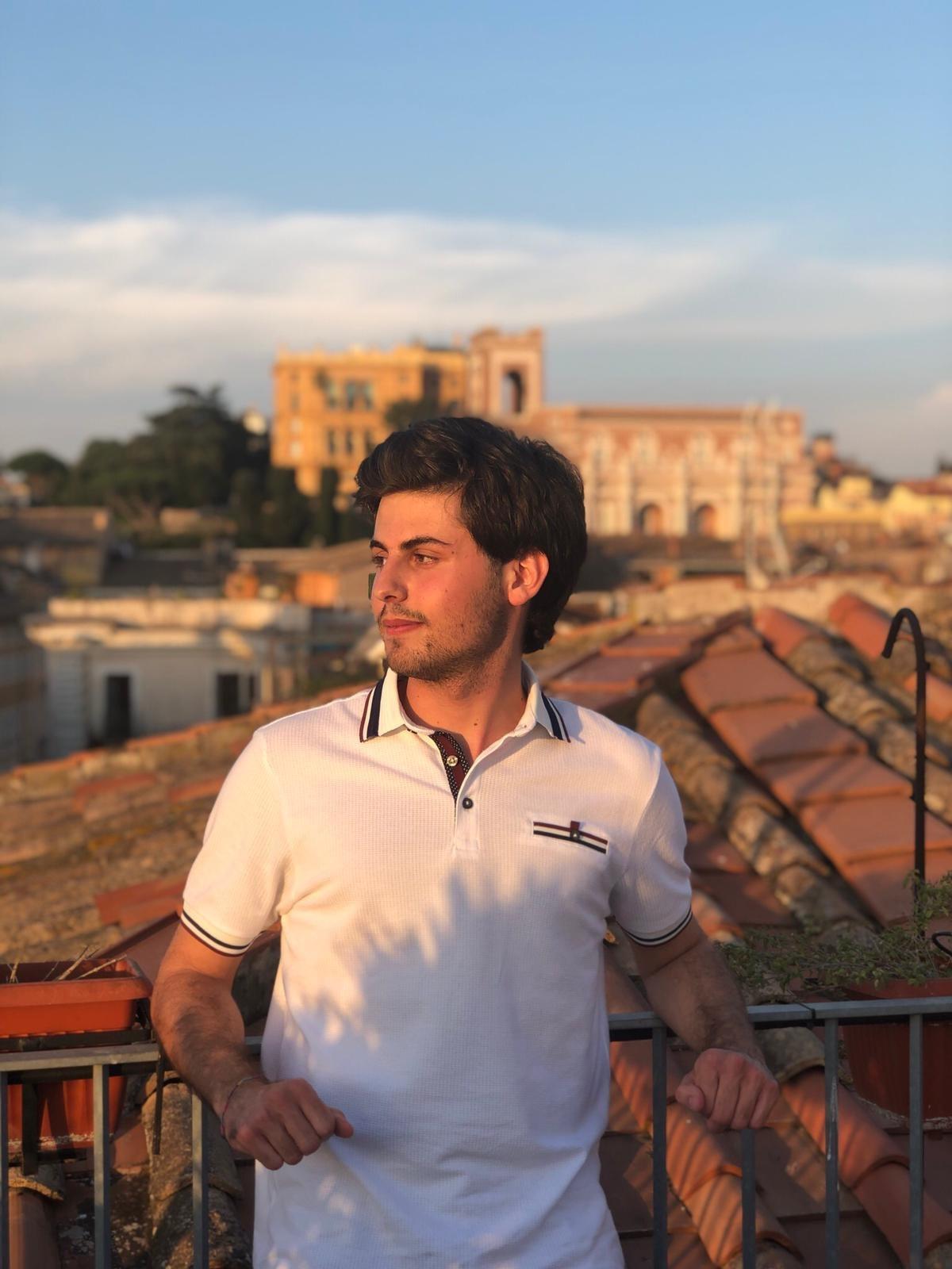English Literature graduate Giorgio Maria Millesimi