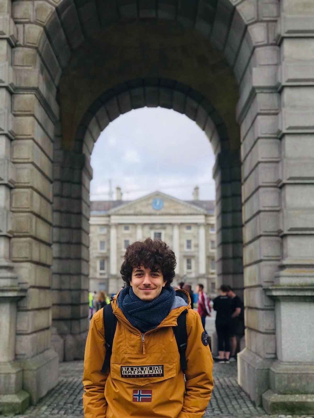 English literature graduate Mattia Maglione