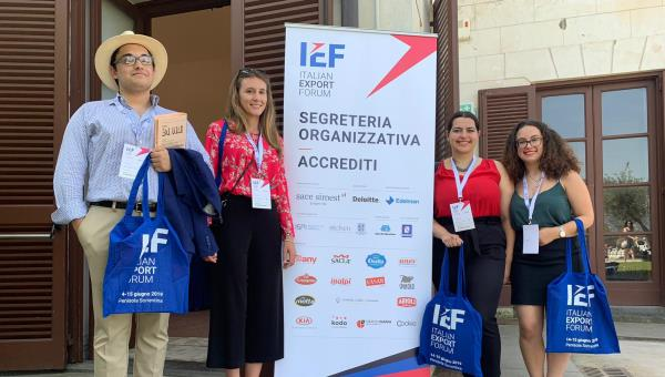 """Exporting Beauty:"" Four JCU Representatives at First Italian Export Forum"