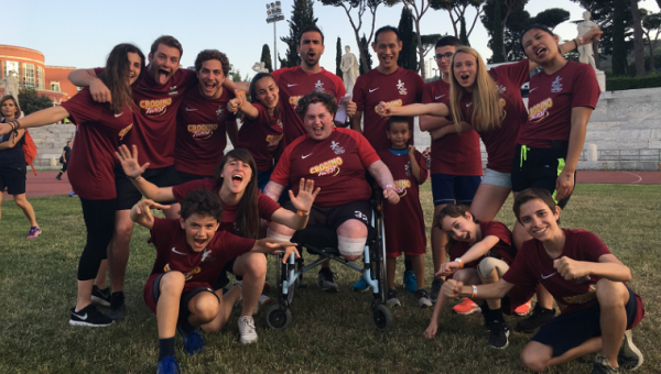 """Games Without Barriers:"" JCU Gladiators Support Italian Paralympic Sports"