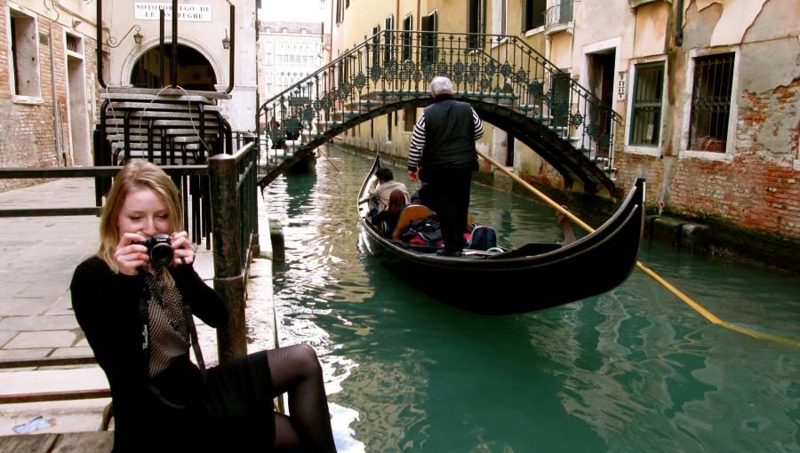 Megan Heinzinger in Venice