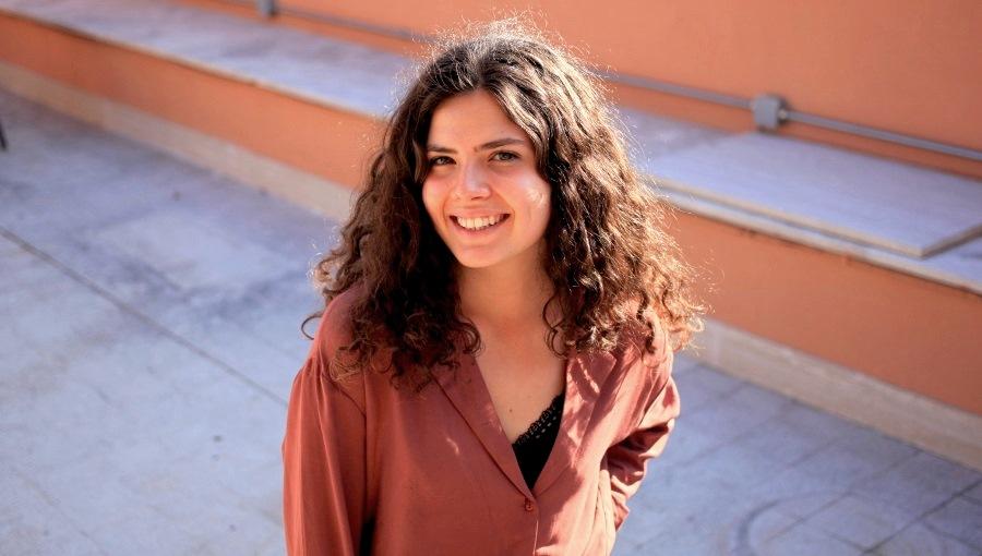 Student Virginia Corradini