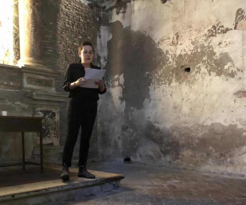 Allison Grimaldi-Donahue Reading at Gavin Brown