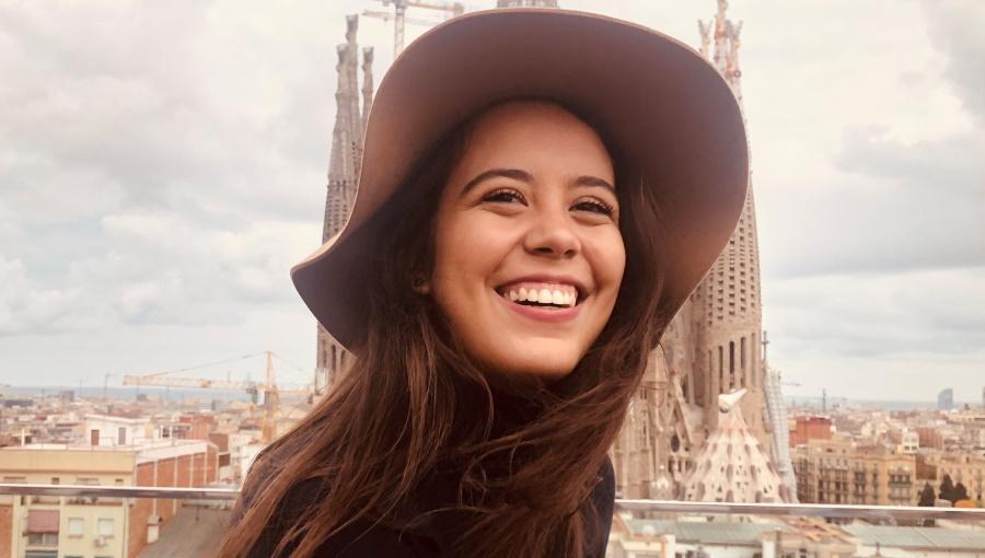 From Rio de Janeiro to Rome: Student Isabela Nepomuceno de Oliveira