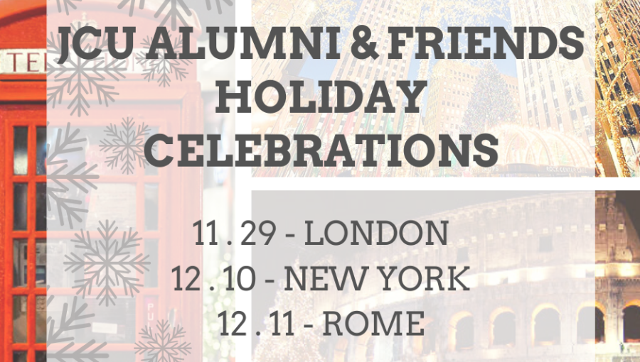 JCU Alumni Association Invites You to the 2019 Holiday Celebrations