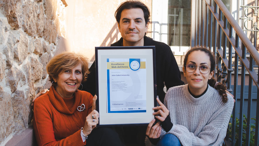 JCU Web Team Awarded Siteimprove 2019 Certificate for Web Excellence