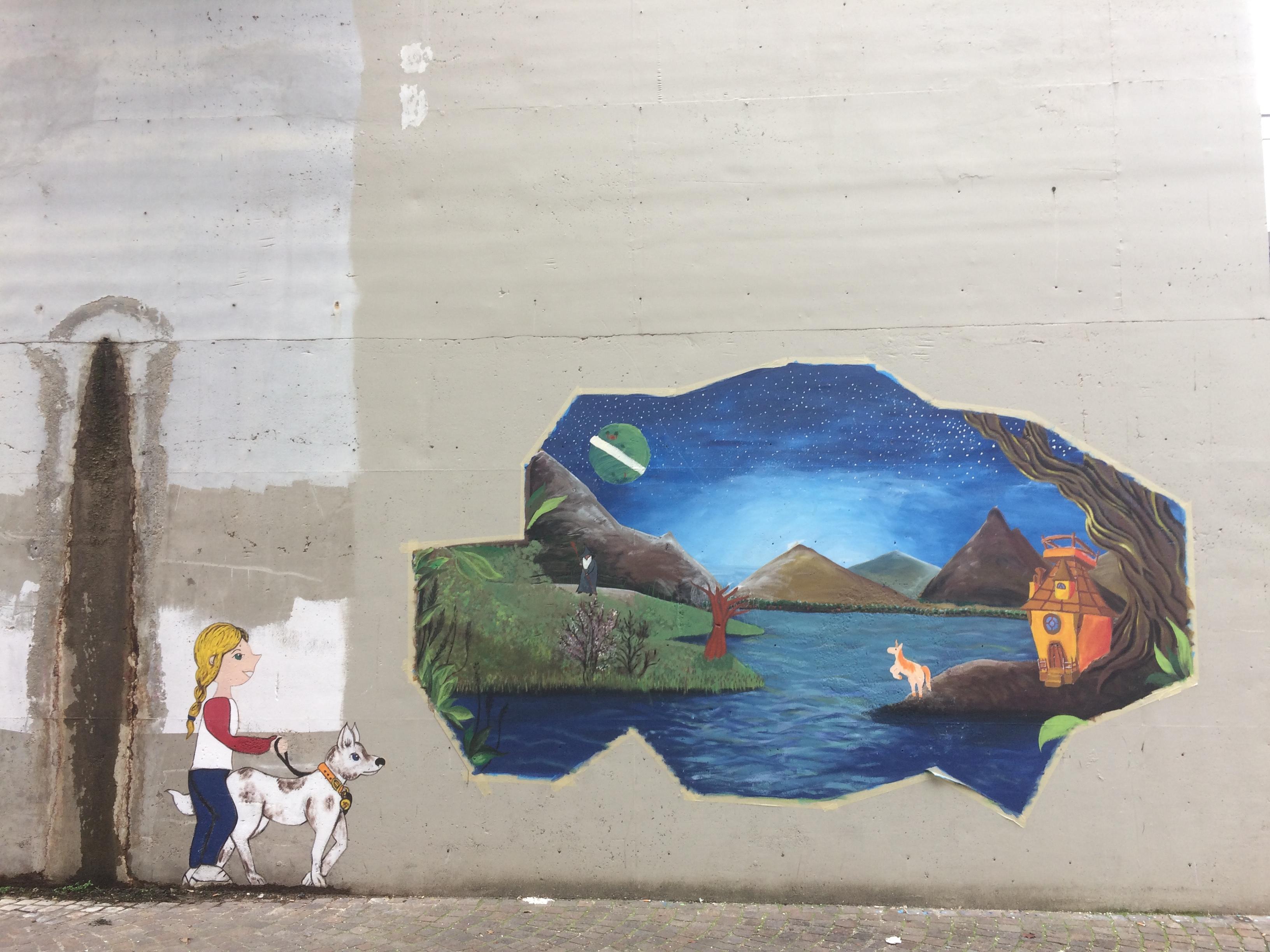 """Street Art Project """"La Cura Della Bellezza"""""""