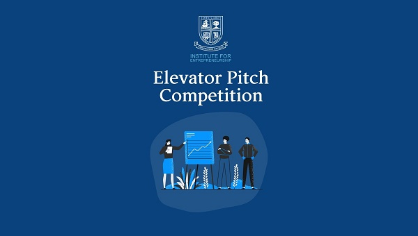 Institute for Entrepreneurship Announces Winners of the Fall 2020 Elevator Pitch Competition