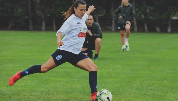 Alumna Livia Capparelli Signs With Italian Major League Soccer Team