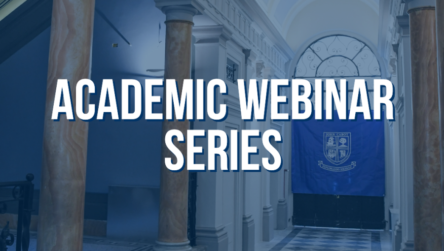 A Glimpse Into JCU: Second Academic Webinar Series