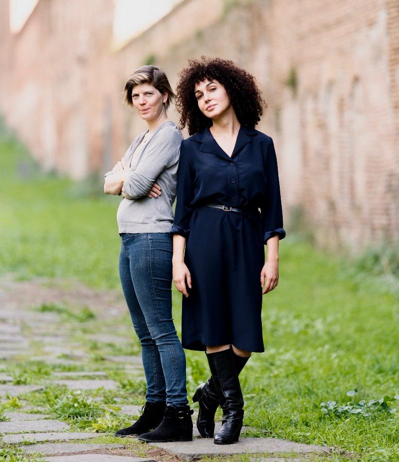 Chloé Barreau (left) and Lilith Primavera (right)