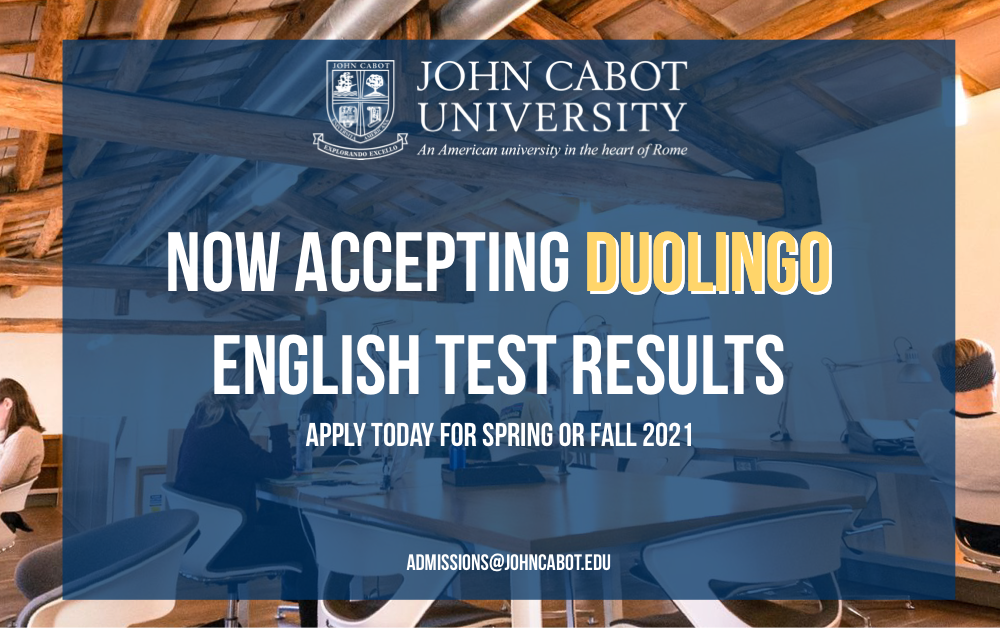 JCU Now Accepting Duolingo Test Results