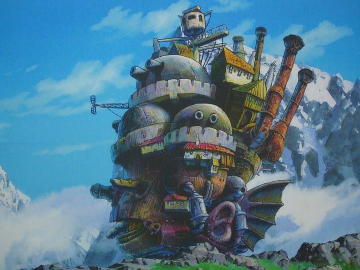 Exhibition of the Ghibli Studios in Busan